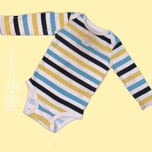 **$1 add on** carters long sleeve onesie
